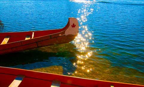 Canoe, Centre Island, Toronto
