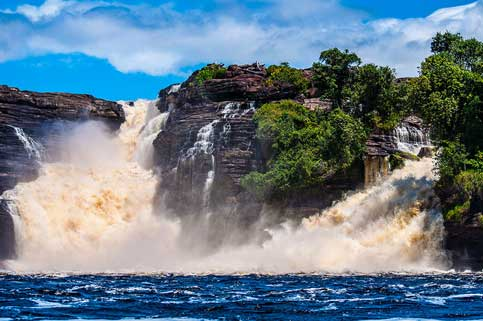 Waterfalls, Canaima National Park, Venezuela
